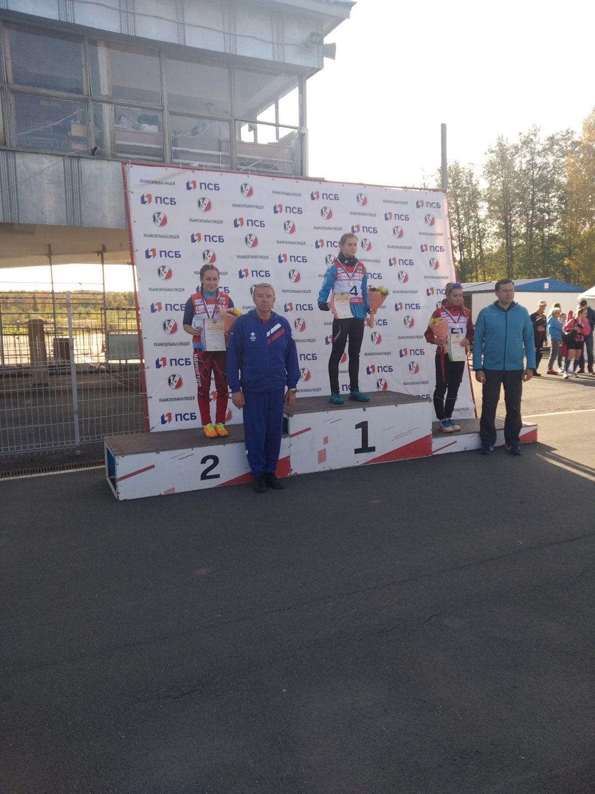 Можгинская спортсменка стала второй на Первенстве России по биатлону.