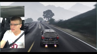 What really happened to the car of the SINGING MAN (outside view-GTA V Version)