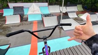 Лучший скейтпарк в РФ? Обзор на обновлённый XSA Тренинг парк💪🏼
