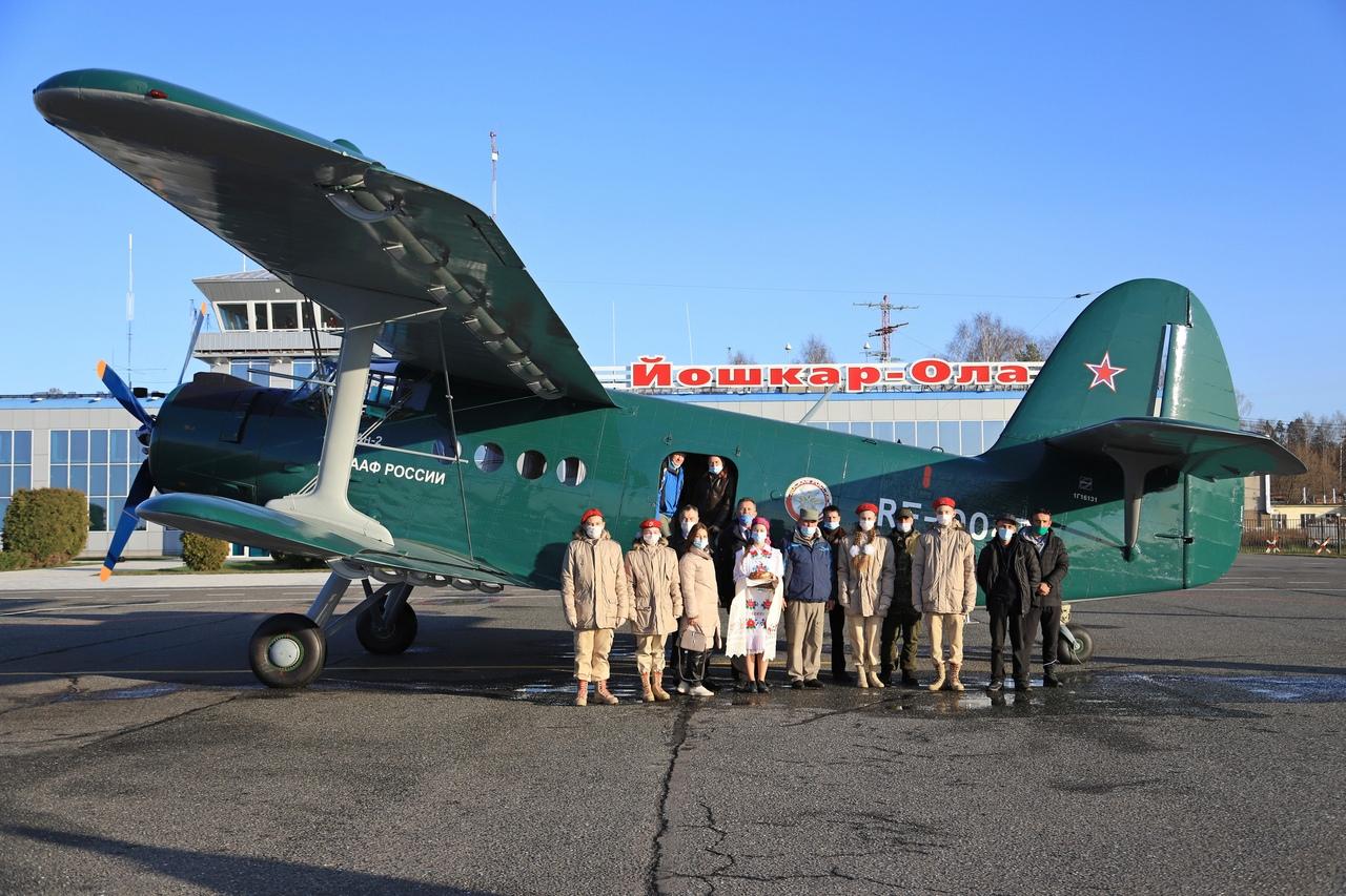 Самолет АН-2 вернулся в Йошкар-Олу после капремонта