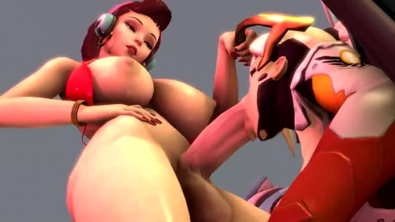 Overwatch D Va Masturbation