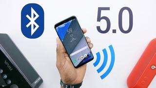 Показ и Тест, Bluetooth приёмников  передатчиков.