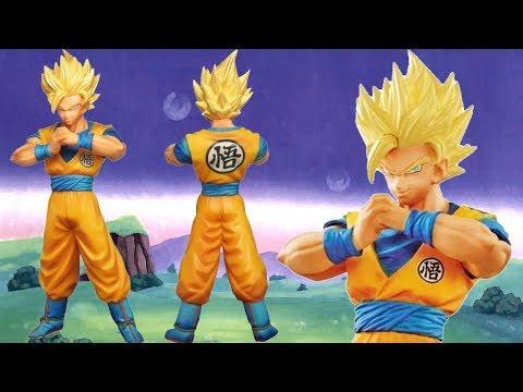 UNBOXING Super Saiyan 2 Goku Dragon Ball Super DXF The Super Warriors Banpresto