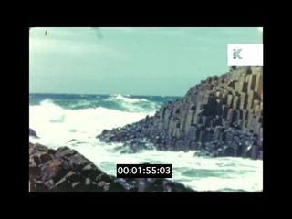 1940s Northern Ireland, Coastal Holiday, Glenariff, Giant's Causeway, Home Movies, 16mm
