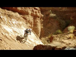 Massive stepdown to wallride slo mo - Red Bull Moments - Gee Atherton