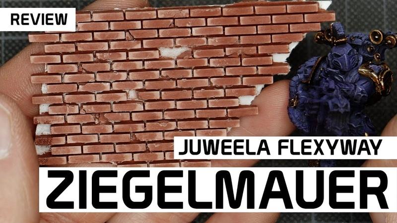 Review: Juweela Flexyway Ziegelmauer für Modellbau und Tabletopterrain DICED