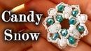 TUTORIAL Candy Snow PERLINE dai colori INVERNALI