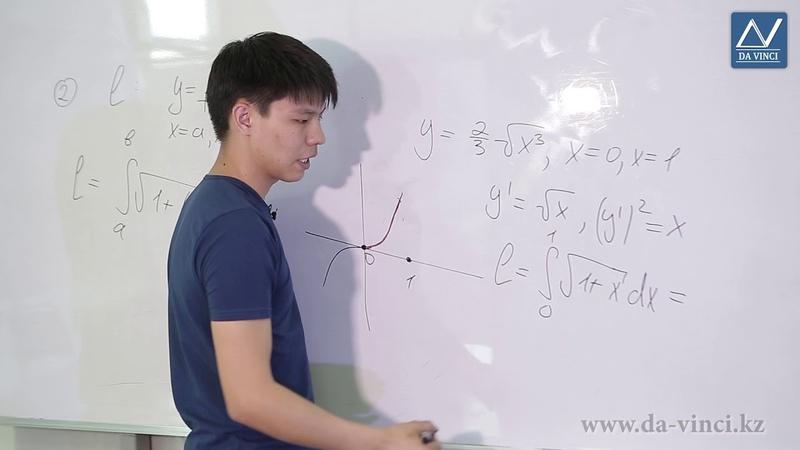 Математический анализ 27 урок Геометрическое приложение определенного интеграла