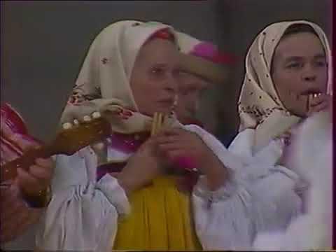 Курская обл Большесолдатский р н с Будище Карагодная пляска Тимоня 1980 г