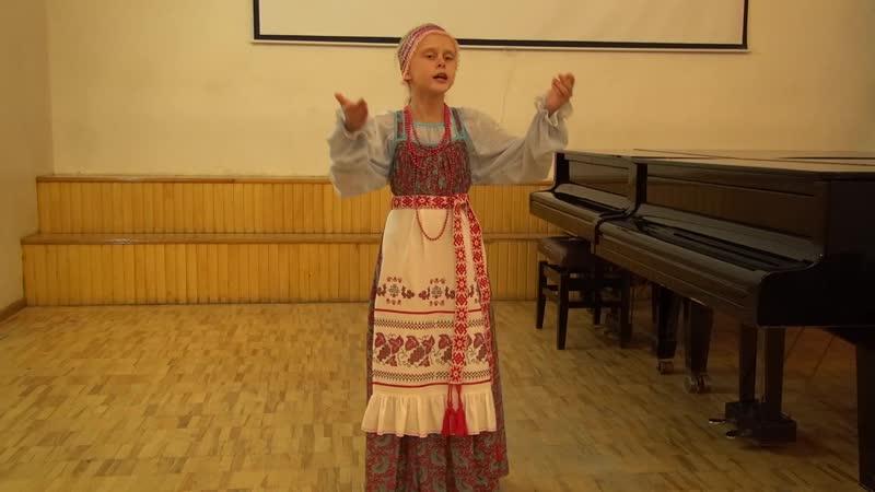 Красильникова Алиса ДМШ им. С.М. Старикова