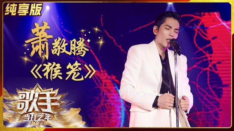 纯享版 太震撼!萧敬腾《猴笼》呈现耳目一新的惊喜舞台《歌手·当打之年》Singer2020 SinglesVersion 芒果TV音乐频道HD