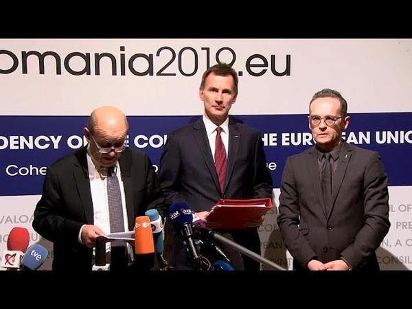 Les Européens créent un système de troc pour faire des affaires avec l'Iran