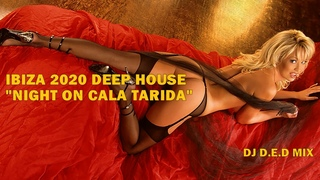 IBIZA 2020 DEEP HOUSE NIGHT ON CALA TARIDA DJ D E D MIX